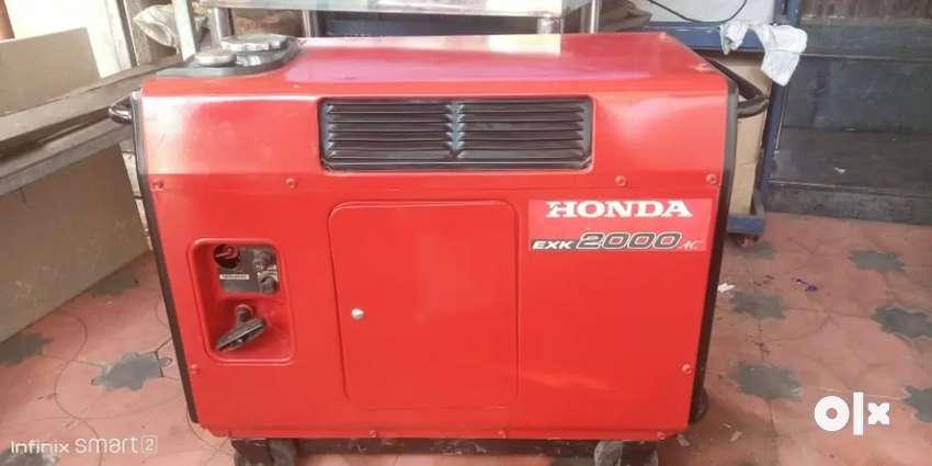 HONDA GENERATORS 2000w- rs26000.            3000w- rs73000 0