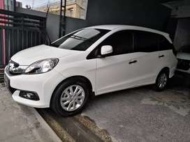 Honda Mobilio E cvt 2014 putih asli bali