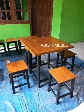 Seat meja kursi kedai