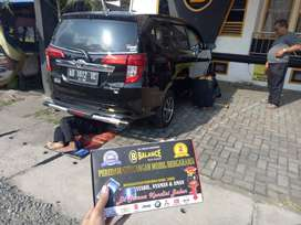 Kurangi AMBLAS pd Mobil saat Full Muatan pakai BALANCE Bantalan Per