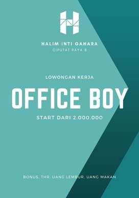 Office Boy - Pondok Pinang - Halim Inti Gahara