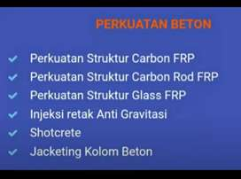 Aplikator perkuatan beton carbon FRP, estowrap300 Estowrap 300H 300 H