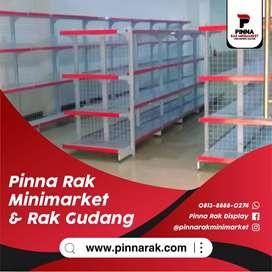 Rak Obral / Rak Minimarket / Display Karpet / Rak Gondola / Meja Kasir