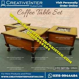 Center Table amzing rate sofa cum bed coffee chair wardrobe iron stand