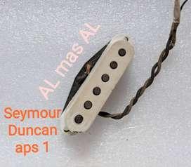 Seymour Duncan APS pickup for squier bacchus not dimarzio emg lollar