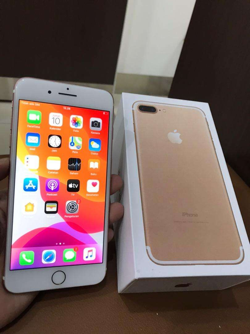 iPhone 7 Plus 32Gb Rosegold Ex Garansi Inter LL/A Mulus Lus Normal Smw 0
