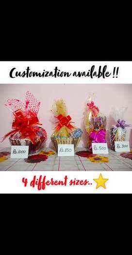 Gift Baskets of your choice