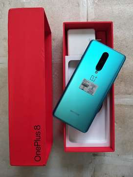 Oneplus 8 6+128 - new unboxed +full kit with Bill box and accessories