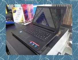 Laptop Lenovo Ideapad 300 Intel CPU N3150 1,6Ghz - LEBIH AMAN !