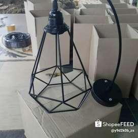 Kap lampu gantung diamon