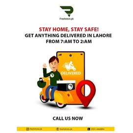 We are looking to Hire Riders in Lahore, our Office is at Wapda Town.