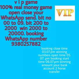 VIP games 100/ 1 time try your luck