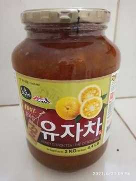 Honey Citron Tea 2Kg - Minuman Konsentrat Jeruk Sitrun dengan Madu