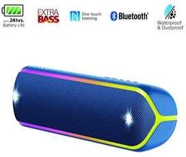 Sony SRS-XB32 Wireless Extra Bass Waterproof Speaker: Blue unused NEW