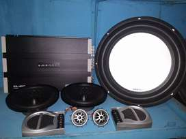 + pasang paket embassy power subwofer speaker split terima beres