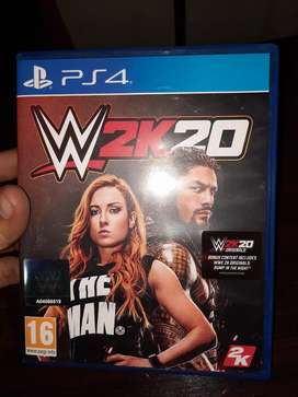 wwe 2k20 standard edition ps4
