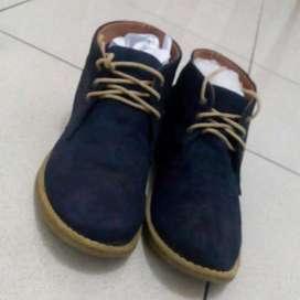 Turun Harga Sepatu H&M Shoes Navy Booth like New