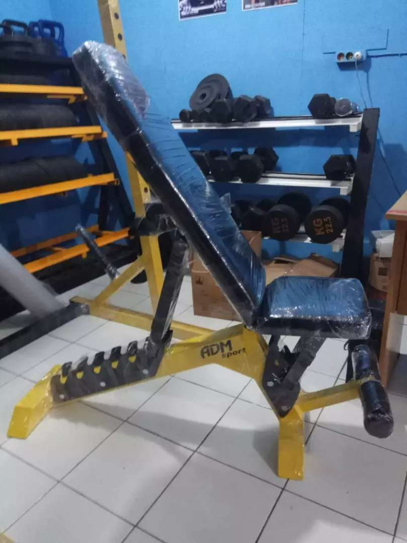 Alat fitnes indoor adjustable bench 0