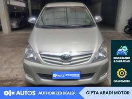 [OLX Autos] Toyota Innova 2010 G Bensin 2.0 M/T Silver #Cipta Abadi