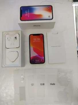 IPHONE X 256 Gb Grey Garansi TT 7 8 Plus 32 64 X xr Xs Max 128 512