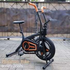 sepeda statis platinum bike FC-388N IR-024 treadmill murah