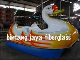 permainan air sepeda air fiberglass, bebek air gowes