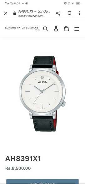 ALBA WATCH IMPORTED.
