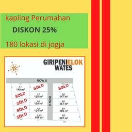 Kapling Tanah di Kulonprogo Potongan 25% & Garansi Profit 30%