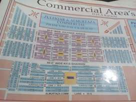 Zulfiqar Commercial 100 Yards Corner Plot Near Parking