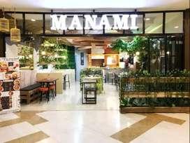 Lowongan Kerja Manami Cafe&Resto