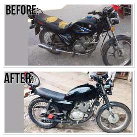 Bike Modifying and Designing Service