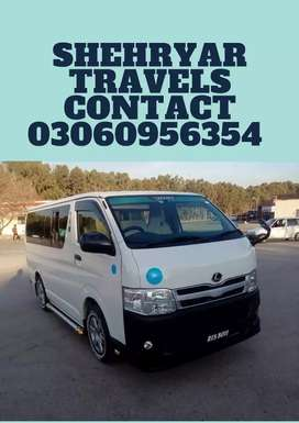 HIACE ON RENT