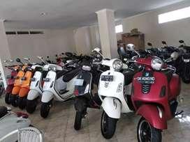Vespa Sprint 2016 cash Kredit Bali dharma motor
