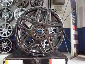 Velg Racing Mobil Calya Hsr Konga Ring 16 Pcd 8x100-114,3 Hb