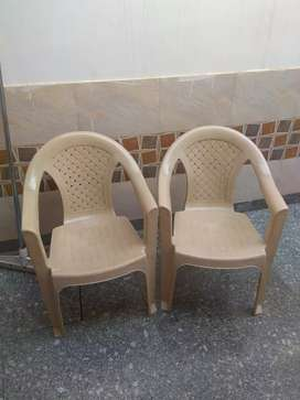2 Plastic chair for sale @ just Rs.350