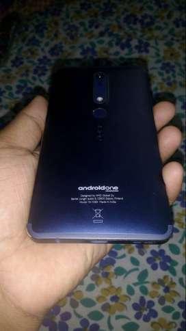 Nokia 6.1, 4gb ram, 64gb internal storage