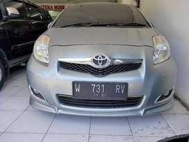 Toyota yaris 2010 AT/automatic/matic S limited silver full orisinil