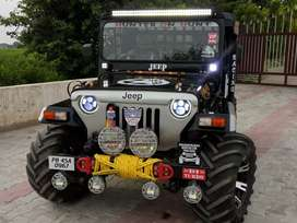 Modified Willy's Hunter Jeeps