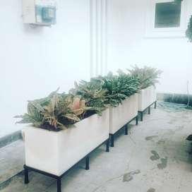 Pot Taman Elegan Panjang 1 meter