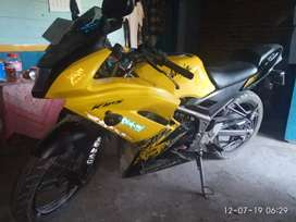 Dijual ninja 150RR warna kuning