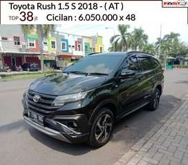 TOYOTA RUSH 1.5 S 2018 MASIH SEPERTI BARU SIAP PAKAI
