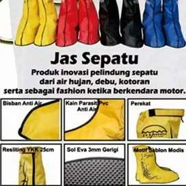 Jas sepatu cover sepatu waterproof