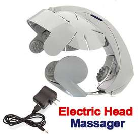Electric Magnet Digital Therapy Vibrating Head Massager