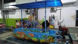 pancingan fiber wahana mainan pancingan ikan elektrik DAP
