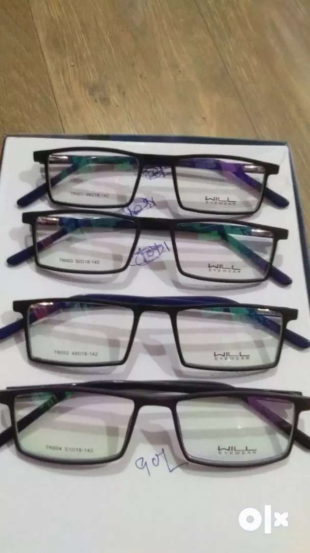 2 sets of new frames and white lenses  Rs 1300 only.