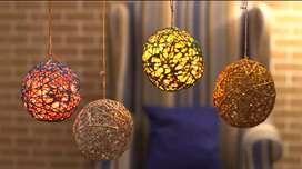 handmade hanging lyts