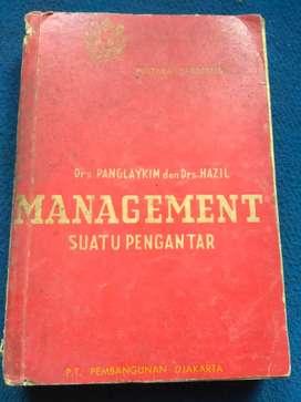 Management suatu pengantar