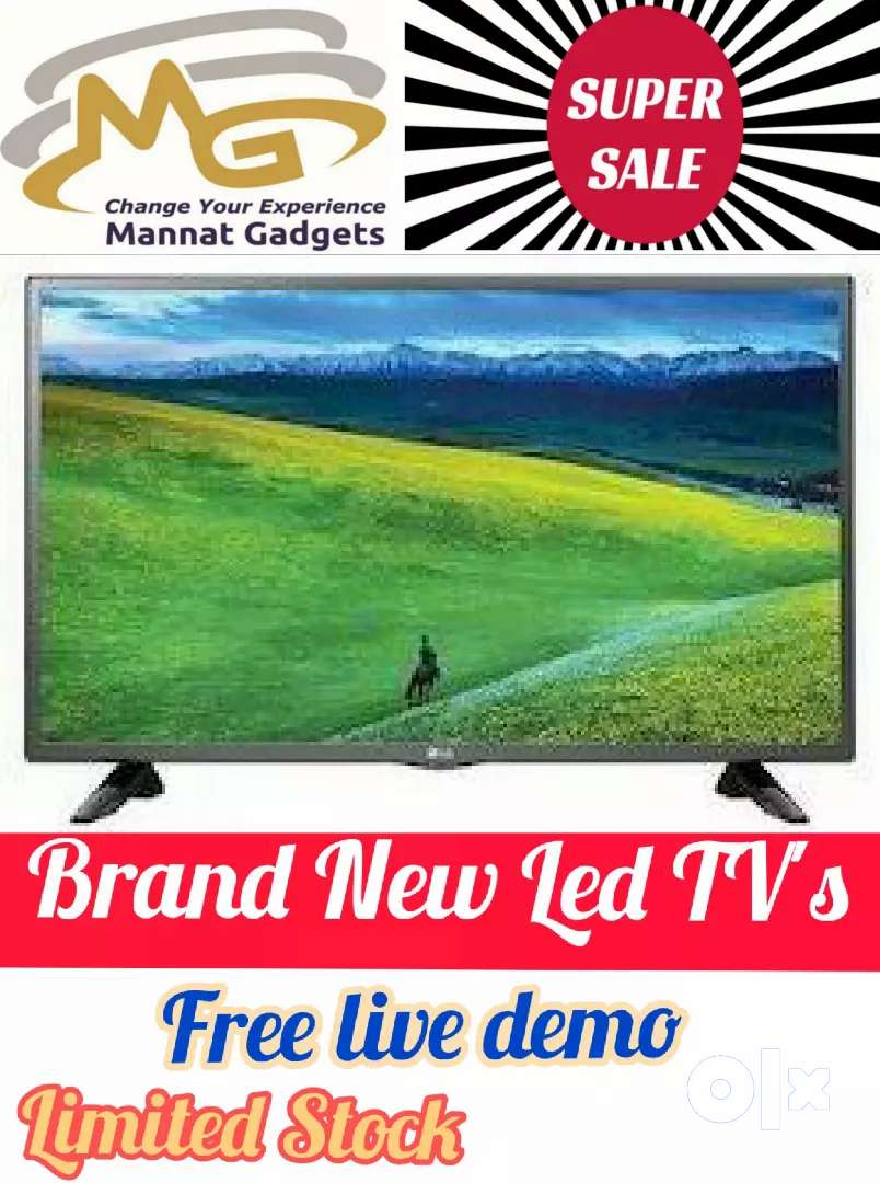 24 inch simple led tv // NEW offers !! best price's  ___ call now 0
