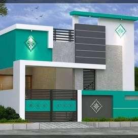 2 BHK individual house for sale in Gerugambakkam