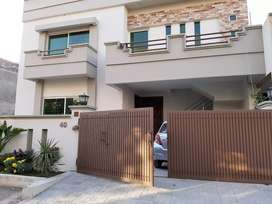 H block Soan Garden, Brand new 10 marla house ground portion for rent